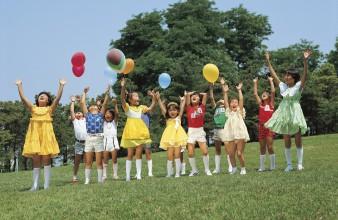 Kindergeburtstag im Freien