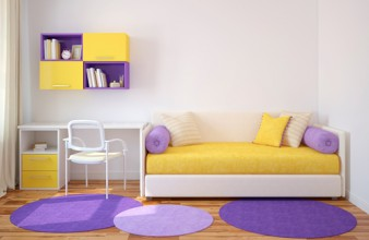 Artikelgebend sind Tipps zur Umgestaltung von Kinderzimmern.